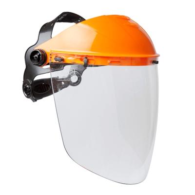 Casquete Para Protector Facial, Con ProtecciÓn Craneana.  – Arnes A Cremallera -