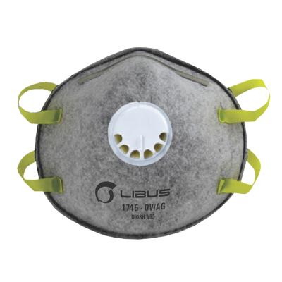 Mascarilla Descartable Para Particulas N95 Con Valvula