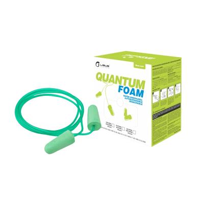 Protector Auditivo Endoural Autoexpandible - C/ Cordel - Mod. Quantum. Foam - Nrr 32 Db - Cod. 900475.