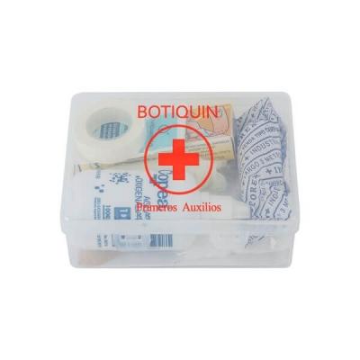 Botiquin De Plastico Primeros Auxilio N° 4. (13 Unidades).