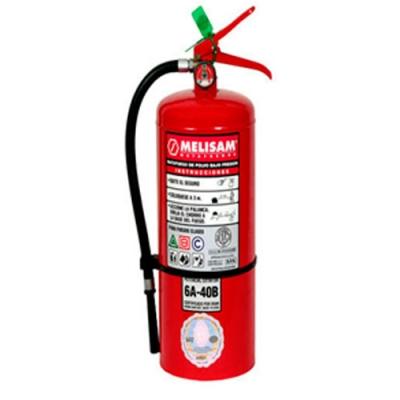 Extintor De Polvo QuÍmico Abc X 1 Kg. Con Sello Iram Y Dps. Con Soporte Plastico -