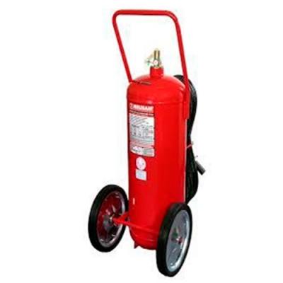 Carro Hidrante  De Polvo Quimico Abc X 50 Kg.  Con Sello Iram Y Dps. Con Manga De 5 Mt -  Rueda De 350 Mm Diametro