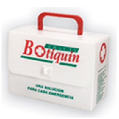 Botiquin De Pvc Corrugado Primeros Auxilio N° 5. (20 Unidades).