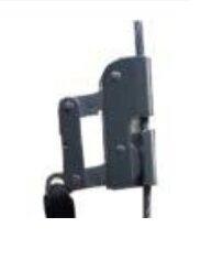 Salvacaidas De Acero Inoxidable Para Cable Acero De 8 Mm. C/ Carabinero Con Amortiguador - Art. Skyh8208 - Marca Sky. (top Safe).