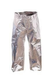 Pantalon Aluminizado Kevlar Con Pechera - Sistema Dual Mirror Estructura De 5 Capas - Cod. 503 - Marca Bil Vex.
