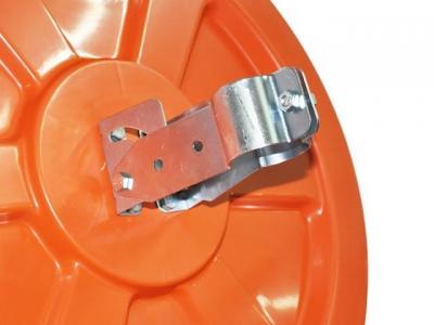 Espejo Vial Inyectado En Plastico Espejado Parabolico De 60 Cm.   Con Soporte.  - Apto Exterior. - Art. 97295