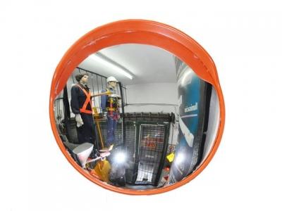 Espejo Parabolico Inastillable Con Base De Chapa Galvanizada X 30 Cm De Diametro - Con Soporte. - Art. 01515