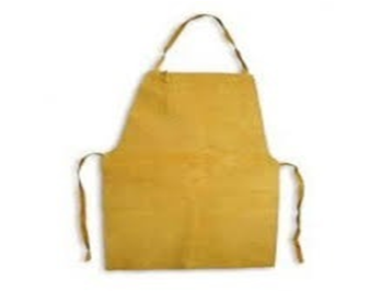 Delantal Descarne  Amarillo – Std. - Largo 110 X 60 Cm. 1° Calidad.
