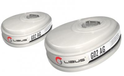 Cartucho Qumico Electrostatico Para Gases Acidos , Mod. G02 - L9000
