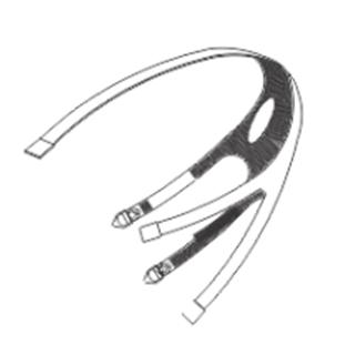 Repuesto Correa Porta Mascara Completa 9900  -. Cod. 902664