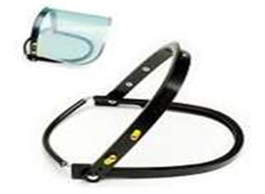Adaptador Para Protector Facial, Para Colocar En Casco. - Universal
