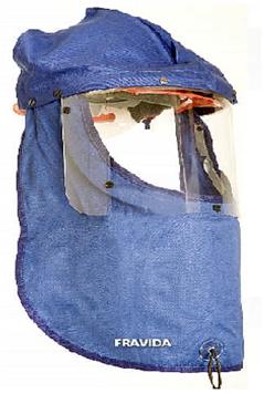 Protector Facial Contra Arco ElÉctrico - Anti DeflagraciÓn Con Casco  Clase 2 - Art. 2090 -