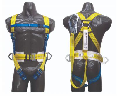 Arnes Anticaidas Con Cinturon Liniero Con Elemento De Amarre Anticaidas - Amortiguador Y Mosqueton Forjado