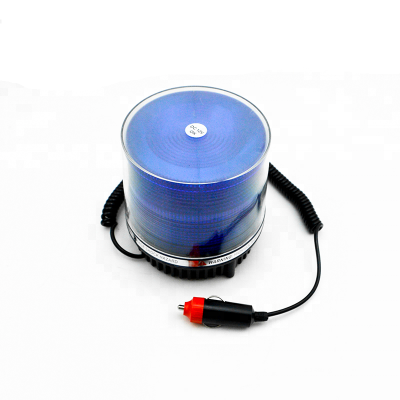 Baliza Con Luz Estroboscopica Flash A Led - Con Iman + Entrufe - Color Azul - 12 Volt - Art. Cd 469-12 Az - Marca Cd.