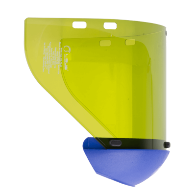 Visor Burbuja Para Protector Facial, Con Cubre Garganta - AntiempaÑo. Arc Flash 12 Cal/cm2