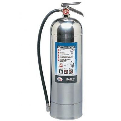 Extintor De Aluminio - Co2 X 4,54 Kg. Con Sello Iram Y Ul.