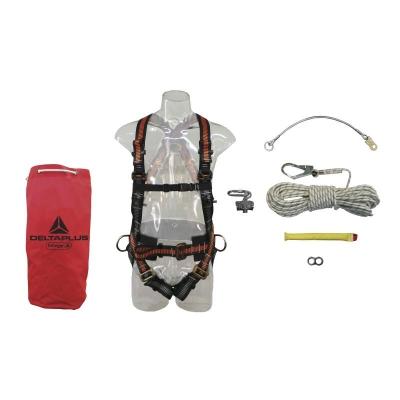 Kit Completo Para Trabajo Vertical - Largo 20 Mt.  - Art. Kvs-20.