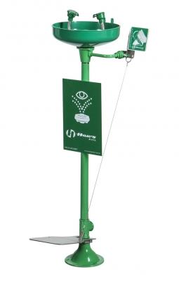 Lavaojos En Acero Galvanizado Con Doble Accionamiento: Manual O   Por Pedal.