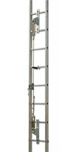 Soporte Intermedio Linea De Vida Vertical Para Usar Con Kvs Y Kvs/abs Art. Intklv.  Cod. Z0acs0090