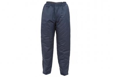 Pantalon Abrigo Tela Trucker Wata 150 G - Azul Marino - 3xl