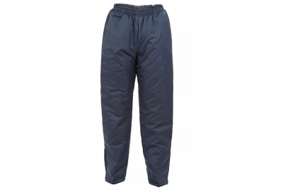 Pantalon Abrigo Tela Trucker Wata 150 G - Azul Marino - L