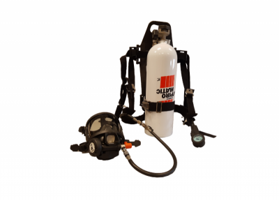 Equipo Autonomo Scba Spiromatic 90 Usa - Air Hatch - Cilindro De Carbono Cs 30 Minutos De Autonomia - Marca Interspiro (libus) - Cod. 904316.