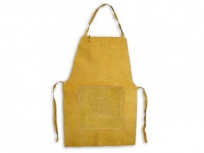 Delantal Descarne  Amarillo – Std.  -  Largo 90 X 60 Cm. – 1° Calidad.