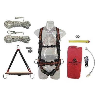 Kit Completo Para Trabajo Vertical - Largo 60 Mt.  - Art. Kvs-60.