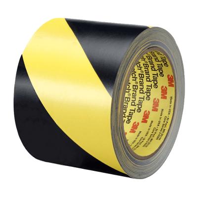 Cinta Demarcatoria Autoadhesiva - Color Amarilla Y Negro De 50 Mm   Ancho - Rollo X 30 Mt De Largo