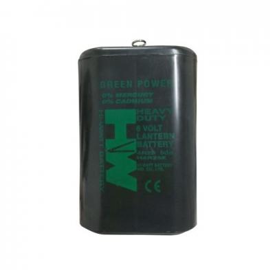 Bateria De 6v - Para Baliza -  Duracion 600 Horas. (no Recargable).