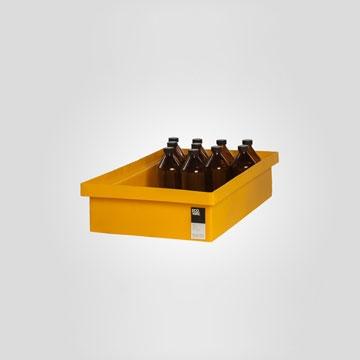 Bandeja De ContenciÓn | 18 Lts-bandejas Altamente Resistentes De V. Medidas P/ Almacenaje De Botellas.