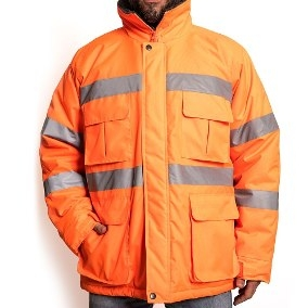 Campera Termica De Trucker - Color Naranja - M