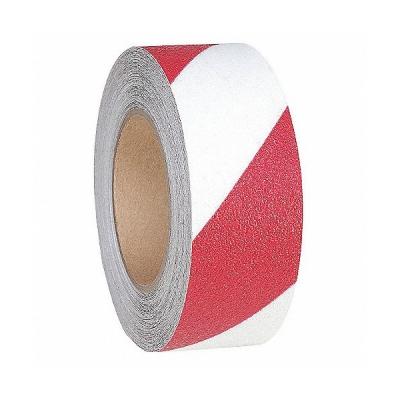 Cinta Adhesiva Antideslizante Blanco/rojo 18 Mt (largo) X 5 Cm (ancho) Art. Cd 7299/rb - Marca Cd.