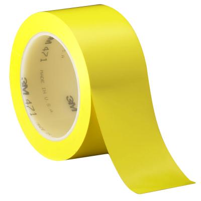 Cinta Demarcatoria Autoadhesiva - Color Amarilla De 50 Mm Ancho  Rollo X 30 Mt De Largo