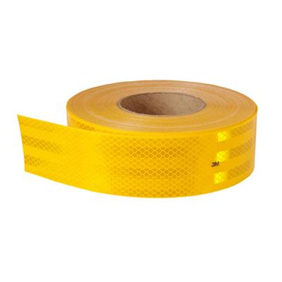 Cinta Reflectiva Color Amarilla - 50 Mm Ancho X Rollo De 45.70 Mt -