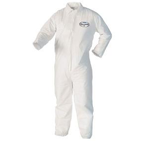 Mameluco Descartable - Color Blanco - Resistente A Particulas - C/ Cierre - Capucha - Botamangas - MuÑecas Elastizada - Talle M - Marca Kimberly-clark.